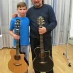 Сергей Матвеенко и Егор