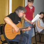 С Сергеем Матвеенко