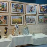 Куклы и картины в ДК Руслан