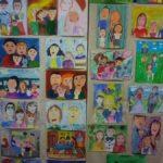Выставка рисунков Моя семья