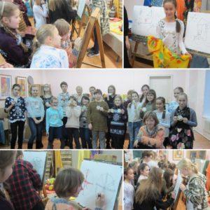 24.11.2018 Посвящение в Юные художники
