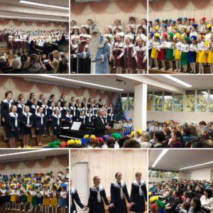 21.12.2018 Новогодний концерт хора Капельки и хора Подснежник