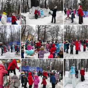 22.12.2018 Открытие елки в Парке Прибрежный