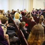 Беседа со зрителями